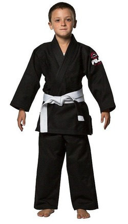 All Around Kids BJJ Gi black 1