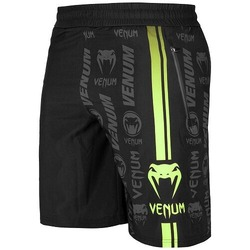 Logos Training Shorts blackneoyellow1