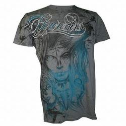 Throwdown Gazelle T-Shirt Chacoal1