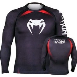 Rashguard Venum No Gi LS BlackRed_1