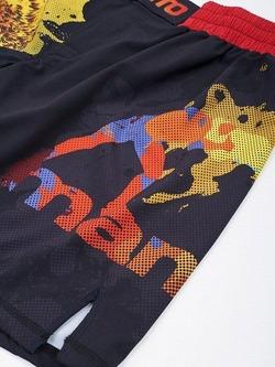 fight shorts GORILLA black 4