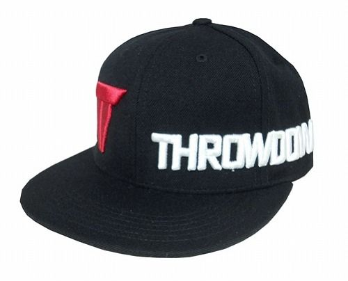 Throwdown Standard Snapback Hat BK1