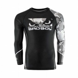 Soldier Rashguard black grey 1