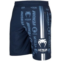 Logos Training Shorts navywhite1