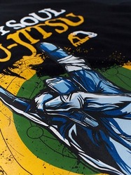 t-shirt SOUL black 2