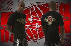 NAJA Tシャツ MMA DEPT 黒