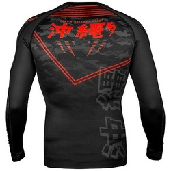 Okinawa 20 Rashguard ls blackred 4