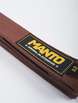 MANTO belt BJJ ORIGINAL brown2