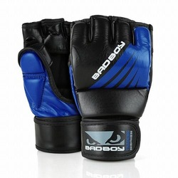 Training Series Impact MMA Gloves With Thumb blackblue1