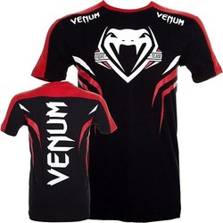 T-shirt Venum Shockwave 2  Bk Red1
