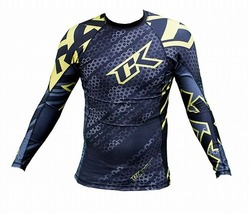 Droid yellow rashguard Long sleeve 2