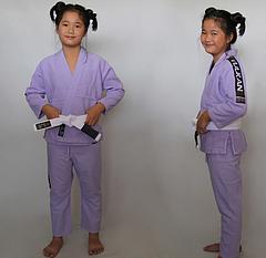 VULKAN 子供用柔術衣 ラベンダー