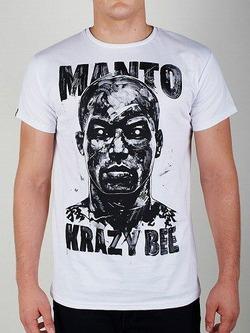 MANTOxKRAZYBEE_tshirt_bialy1