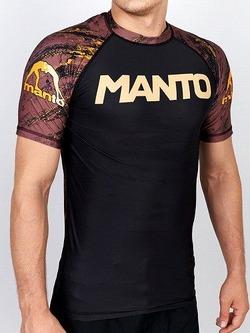 MANTO short sleeve rashguard MATLIFE black 2