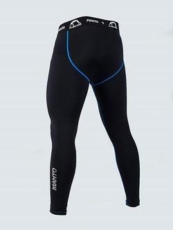 training tights BASICO black blue 2