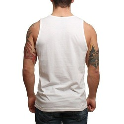 RVCA TROPIC DOOM TANK WHITE 2