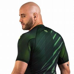 Metaru Rash Guard SS green3