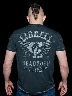 Headrush Liddell Onyx T-Shirt 2