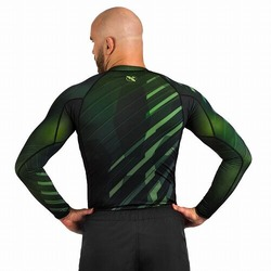 Metaru Rash Guard LS green3