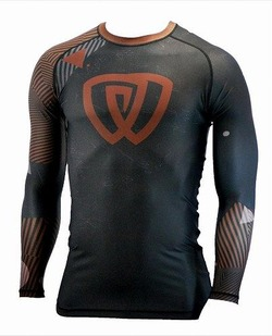 Rash Guard Chaos Ranked Brown Belt 1