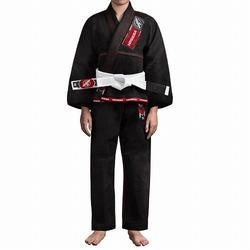 Gold Weave Youth Jiu Jitsu Gi black 1