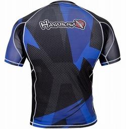 Rash Short Sleeve BK Blue3