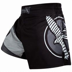 Kickboxing Shorts black gray 1