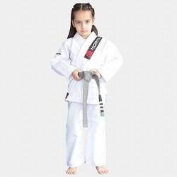 KIMONO KIDS REFORCADO white 1
