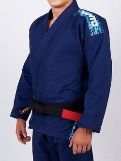 Manto CAMO BJJ GI navy blue 1