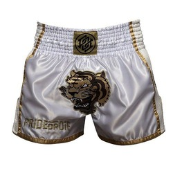 Short Muay Thai UNLEASHED White 2