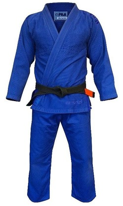 Elemental BJJ Gi Blue 1