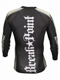 Elite Rash Guard Black longsleeve2