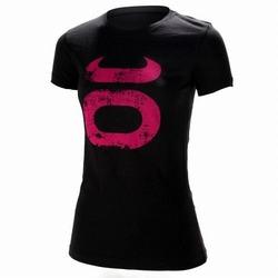 Women's Grunge Crew BK Pink1
