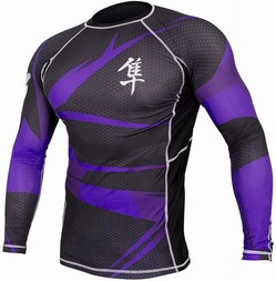 Rash Longsleeve purple2