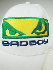 BAD BOY キャップ ショーグン UFC113 白