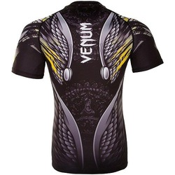 Viking 20 Rashguard Short Sleeves BlackYellow 3