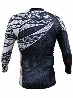 Tribal Rashguard Long2