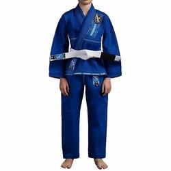 Gold Weave Youth Jiu Jitsu Gi blue 1