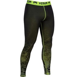 Fusion Compression Spats black-yellow 1
