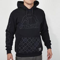 hoodie DARK KNIGHT black1