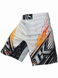 Shorts Stained S2 Wt Orange1