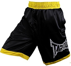 Shorts Ringside Bk Yellow1
