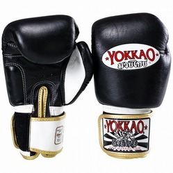 yokkao black boxing gloves kids1
