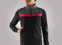 Reversible Jacket_Ladys_BK_PINK_Front2
