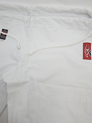 BULLTERRIER 柔術衣 Newライトウェイト シングル 白 パンツ