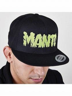 snapback cap ZOMBIE black 1