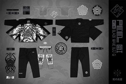 BLACK WAVE BJJ Gi 2