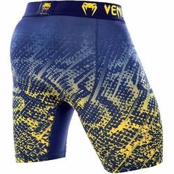 Tropical Compression Shorts blueyellow4