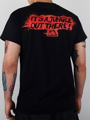 t-shirt JUNGLE black 2
