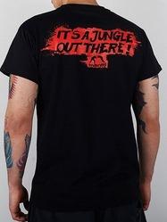 t-shirt JUNGLE black 2
